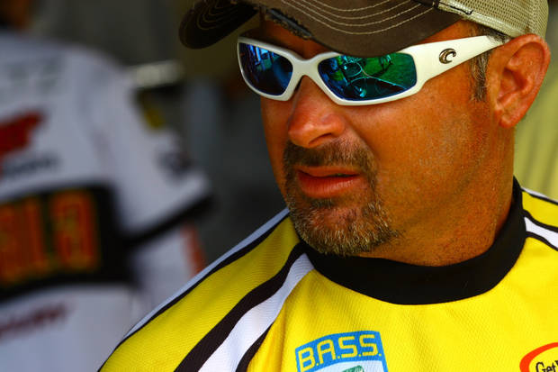 FISH / FISHING / BASSMASTER ELITE SERIES TOURNAMENT / BASS ELITE SERIES TOURNAMENT / PRO / PROFESSIONAL FISHING TOURNAMENT: Jeff Kriet of Ardmore leads the Sooner Run at Grand Lake O' the Cherokees after three days of fishing.  PHOTO PROVIDED BY BASS COMMUNICATIONS	ORG XMIT: 0706231935462959