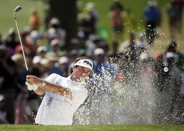 Bubba Watson won the Masters on Sunday, but he's down Berry Tramel's leaderboard for best Bubbas. (AP Photo/Chris Carlson)