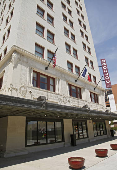 The Colcord Hotel is seen in in downtown Oklahoma City in this 2011 photo. Photo by Chris Landsberger, The Oklahoman Archives <strong>CHRIS LANDSBERGER - CHRIS LANDSBERGER</strong>