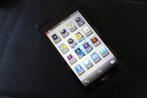 BlackBerry Z10. <strong> - PROVIDED BY AT&T</strong>