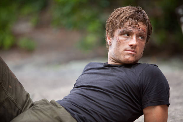 "Josh Hutcherson stars as 'Peeta Mellark' in ""The Hunger Games."" PHOTO BY MURRAY CLOSE PROVIDED. <strong>Photo credit: Murray Close</strong>"