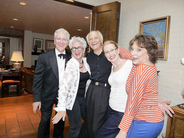 Robert Henry, Lolly Anderson, Bob Windsor, Jan Henry, Kerry Robertson. Photo provided