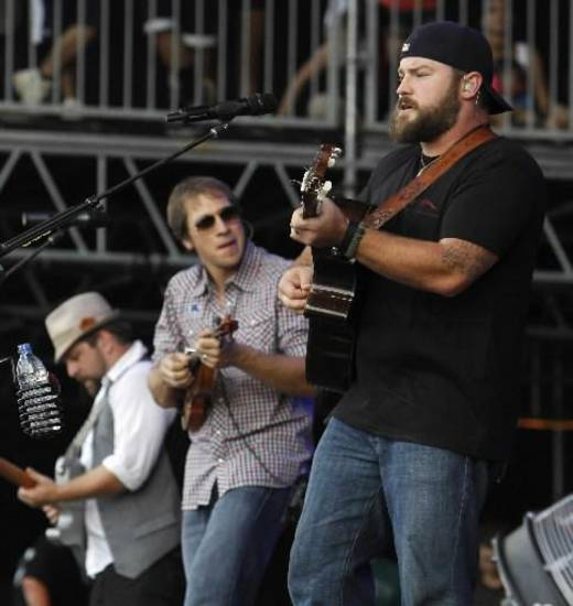 Zac Brown Band (AP file)