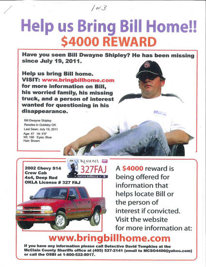 Bill Shipley, missing man. <strong>PROVIDED</strong>