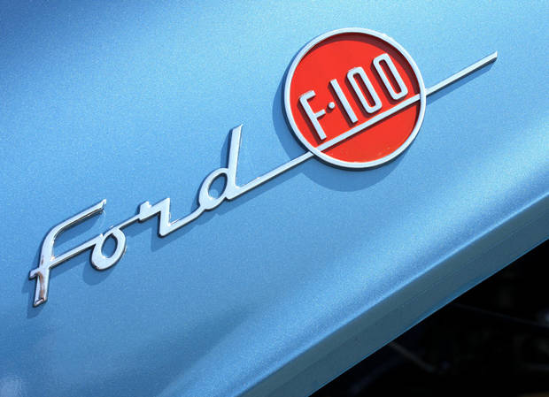 """1955 Ford F-100""   Photo by Doug Hoke <strong>Doug Hoke</strong>"