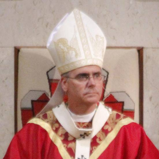 The Most Reverend Archbishop Paul S. Coakley during The Red Mass at The Cathedral of Our Lady of Perpetual Help in Oklahoma City Saturday, September 24, 2011. Photo by Doug Hoke, The Oklahoman. ORG XMIT: KOD