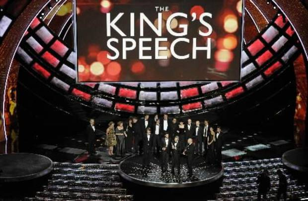 """The King's Speech"" wins best picture."
