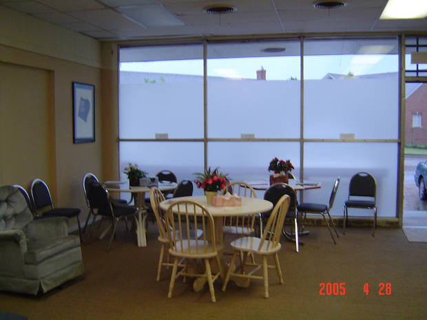 Other Options Inc. Customer Waiting Area<br/><b>Community Photo By:</b> Brenda Golden<br/><b>Submitted By:</b> Brenda,