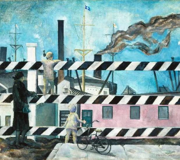 � American Moderns: 1910-1960,� an exhibit featuring 57 works from the Brooklyn Museum, is on view through Jan. 6 at the Oklahoma City Museum of Art.
