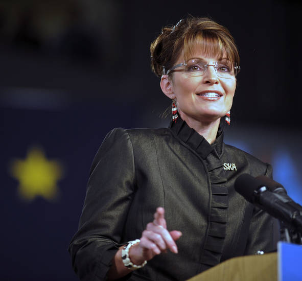 sarah palin, republican vice presidential nominee