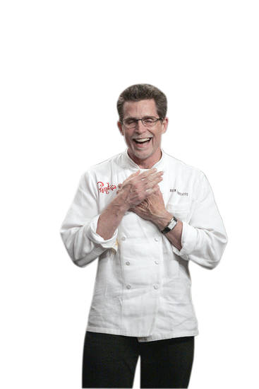 "Right: Oklahoma City native Rick Bayless after winning the top title on Bravo's ""Top Chef Master"" show. PHOTO BY Kelsey MCNEAL / BRAVO"