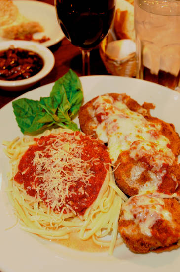 Eggplant Parmigiana, Photo by Ben Pendleton