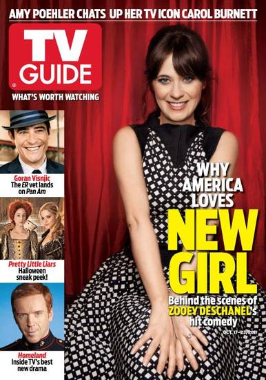 The current issue of TV Guide Magazine