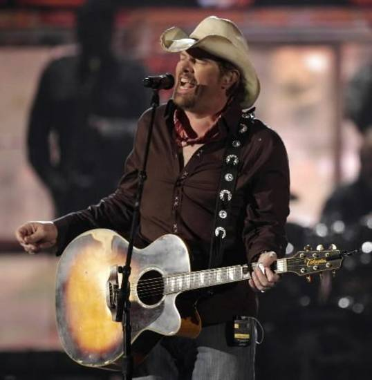 Toby Keith (AP file)