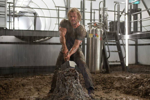 Chris Hemsworth in &quot;Thor&quot;