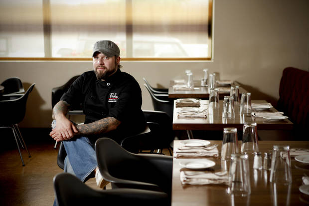 Executive Chef Jonathan Krell poses for a photo inside Stella Modern Italian Cuisine in Oklahoma City. <strong>BRYAN TERRY - THE OKLAHOMAN</strong>