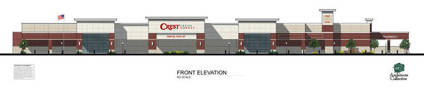 Artist�s rendering of the new Crest Foods coming to Norman. DRAWING PROVIDED