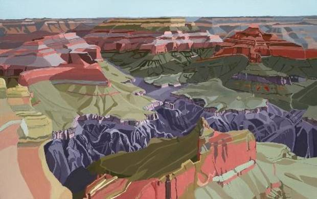 """Liz Roth's """"Powell Point"""" will be on view at JRB Art at the Elms tonight during the Paseo First Friday Gallery Walk. Photo provided."""