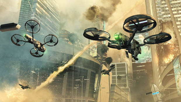 FILE - This video game publicity image released by Activision shows a scene from &quot;Call of Duty: Black Ops II.&quot;  (AP Photo/Activision, File)