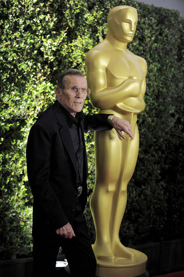 Hal Needham arrives at the 4th Annual Governors Awards at Hollywood and Highland Center's Ray Dolby Ballroom on Saturday, Dec. 1, 2012, in Los Angeles. (Photo by Jordan Strauss/Invision/AP)