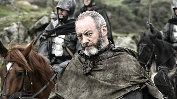 Davos Seaworth, the man who would become Hand to the King, despite missing part of his fingers.
