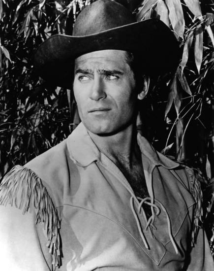 Actor Clint Walker. Photo provided by the National Cowboy and Western Heritage Museum.