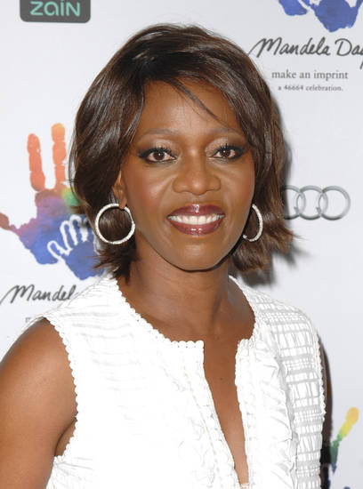 Actress Alfre Woodard attends the Mandela Day Gala Dinner hosted by the Nelson Mandela Foundation at Grand Central Terminal in New York, on Wednesday, July 15, 2009. (AP Photo/Peter Kramer) ORG XMIT: NYPK109