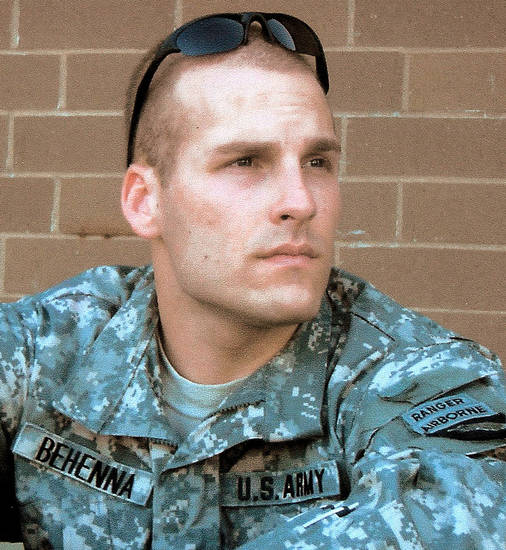 1st. Sgt. Michael Behenna   (provided by family)
