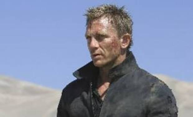 "In this file image released by Sony Pictures, Daniel Craig stars as James Bond 007 in pursuit of an Mi6 traitor in a scene from "" Quantum of  Solace."" Along with sports cars, gadgets and sex appeal, an impeccable sense of style is a hallmark of the now 46-year-old James Bond movie franchise, which expands to 22 films with the release of "" Quantum of  Solace."" (AP Photo/Sony Pictures, FILE)"