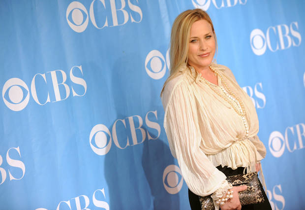 Actress Patricia Arquette arrives at the 2009 CBS Network Upfront party on Wednesday, May 20, 2009 in New York. (AP Photo/Evan Agostini)  ORG XMIT: NYEA110