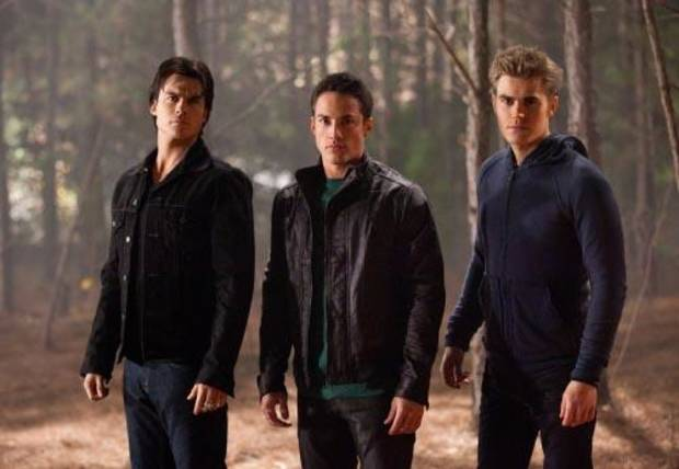 """Daddy Issues"" Pictured: Ian Somerhalder as Damon, Michael Trevino as Tyler, Paul Wesley as Stefan Photo Credit: Bob Mahoney / The CW © 2010 The CW Network, LLC. All Rights Reserved."