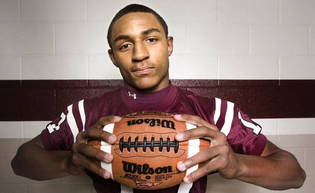 Whitehouse, Texas, receiver Trey Metoyer has committed to OU.  Photo By Tom Turner, Tyler Morning Telegraph
