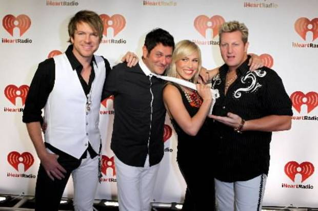 Rascal Flatts and Natasha Bedingfield (AP file)