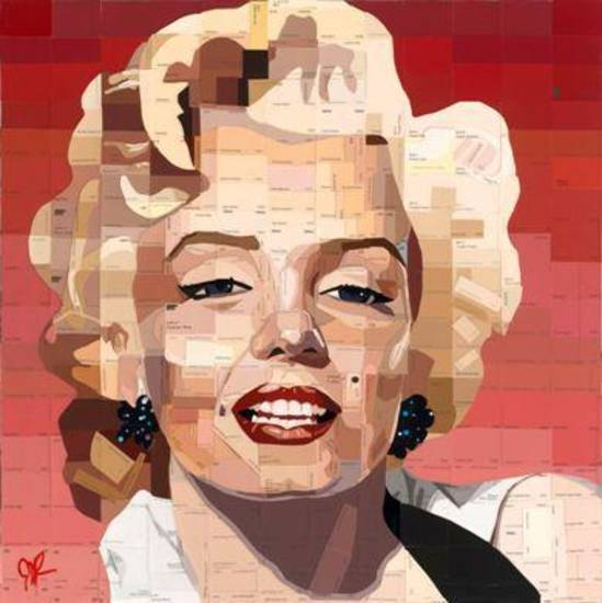 Marilyn 24x24, 1/22/13, 6:03 PM,  8C, 9374x11520 (255+1140), 125%, Custom,  1/30 s, R87.5, G60.6, B73.5