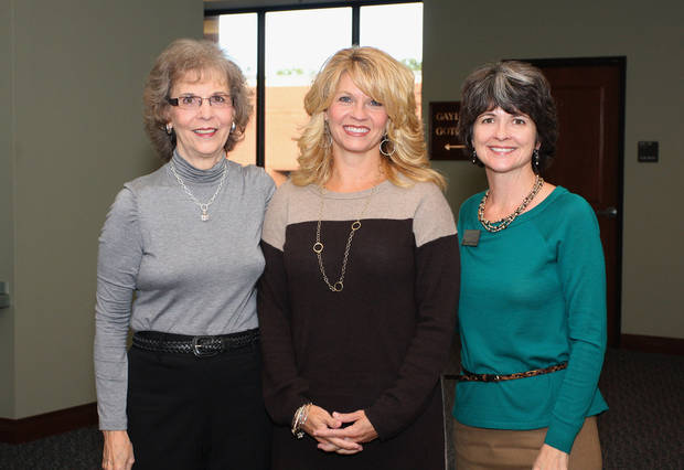 Beverly Stash (Sherri Coale's mother), Sherri Coale, Darla deSteiguer. Photo by David Faytinger__ __