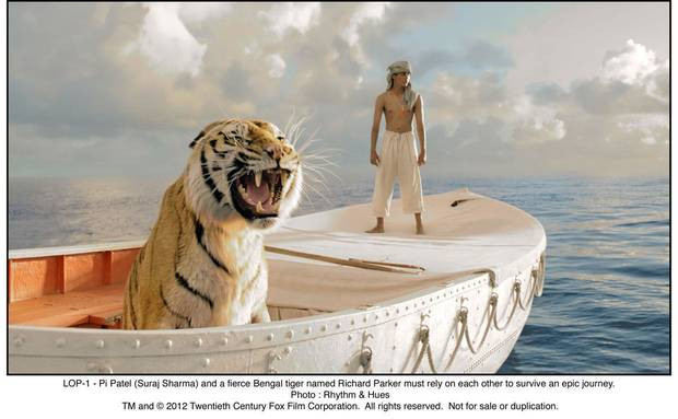 "Suraj Sharma stars in ""Life of Pi."" Twentieth Century Fox photo. <strong></strong>"
