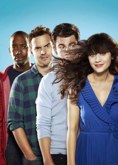 "From left, Lamorne Morris, Jake Johnson, Max Greenfield and Zooey Deschanel of ""New Girl"" - Fox Photo"