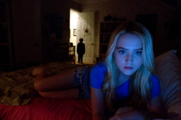 "Kathryn Newton stars in ""Paranormal Activity 4."" <strong></strong>"