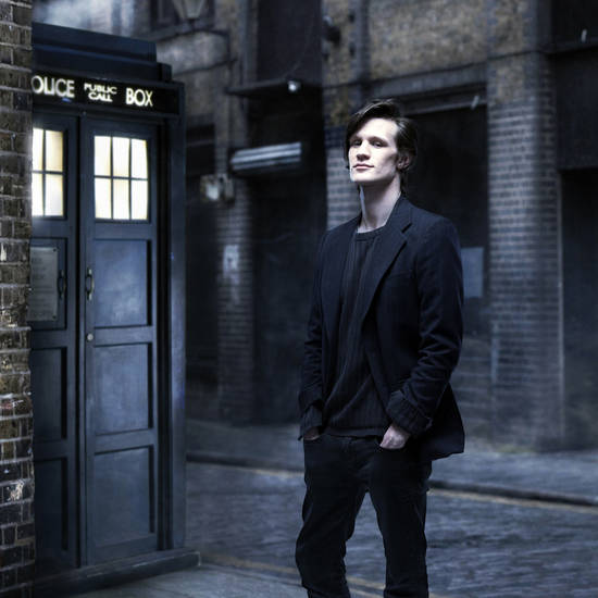 Matt Smith as the Doctor. (BBC)