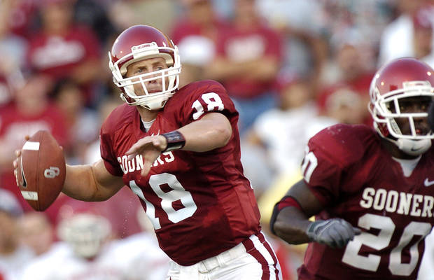 Former OU quarterback Jason White won the 2003 Heisman Trophy. OKLAHOMAN ARCHIVE PHOTO