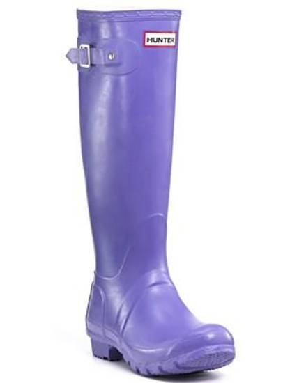 Hunter rain boot.