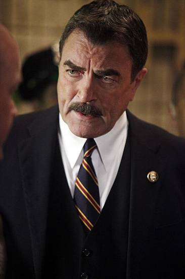 """Friendly Fire"" -- Frank Reagan (Tom Selleck) on BLUE BLOODS, Friday, Sept. 30 (10:00-11:00 PM, ET/PT) on the CBS Television Network. Photo: Craig Blankenhorn/CBS©2011 CBS BROADCASTING INC. ALL RIGHTS RESERVED."