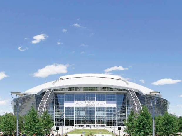 Cowboys Stadium will host the Cotton Bowl game between Oklahoma State and Mississippi on Jan. 2, 2010. AP PHOTO