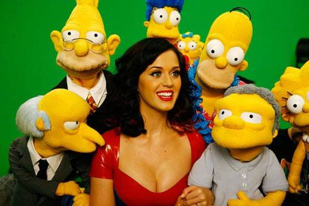 "Katy Perry has moved on from the prudes over at ""Sesame Street."" She'll be featured in a December episode of ""The Simpsons,"" which is probably more her speed, anyway."