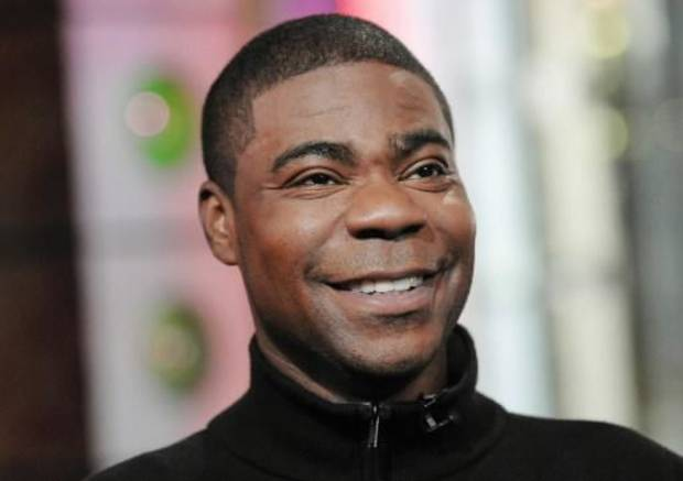 Comedian/actor Tracy Morgan during an appearance on MTV (AP Photo by Evan Agostini)