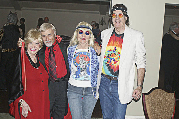 Del Armstrong, Count Gregore (John Ferguson), Sue Koehler, Rich Rodgers.  PHOTO PROVIDED.