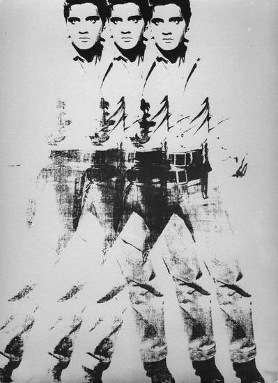 """Elvis"" by Andy Warhol. IMAGE PROVIDED <strong></strong>"
