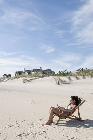 In this photo provided by the Long Island CVB/www.discoverlongisland.com, Coopers Beach is shown in Southhampton, N.Y. (AP PHOTO)