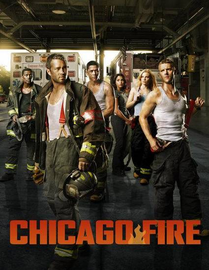 CHICAGO FIRE  -- Pictured: (l-r) Eamonn Walker as Battalion Chief Wallace Boden, Taylor Kinney as Kelly Severide, Charlie Barnett as Peter Mills, Monica Raymund as Gabriella Dawson, Lauren German as Leslie Shay, Jesse Spencer as Matthew Casey,  -- (Photo by: Sandro/NBC)