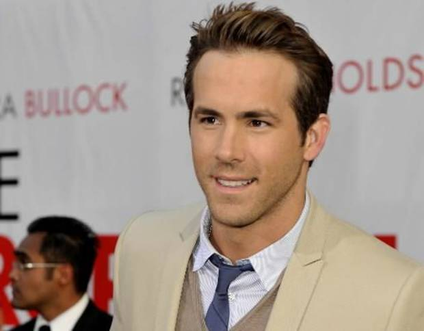 "Ryan Reynolds at the premiere of his film ""The Proposal"" in Los Angeles. (AP Photo by Gus Ruelas)"